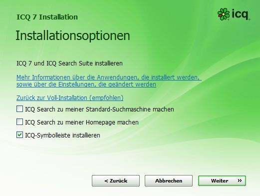 ICQ2_installation