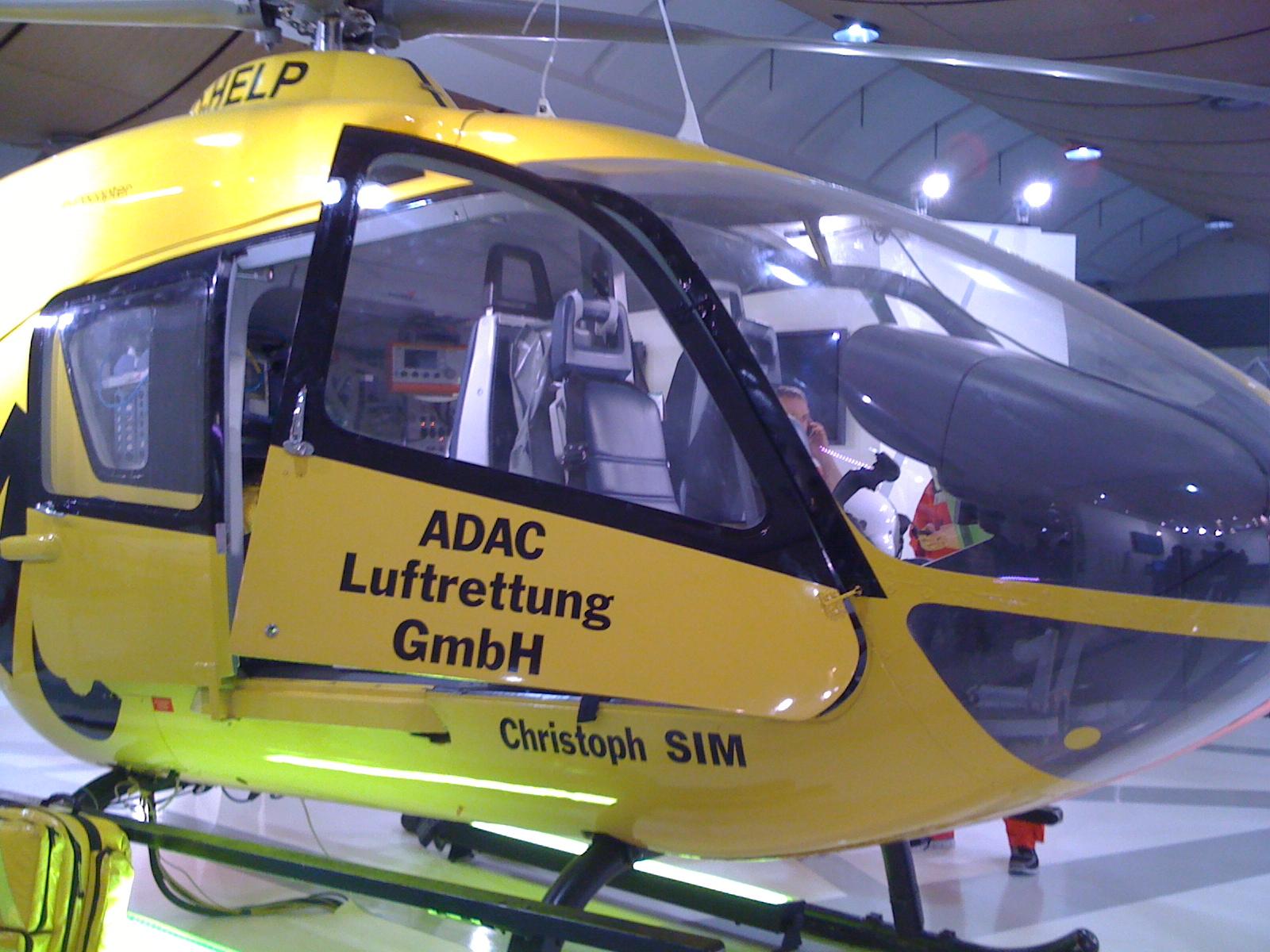 Hubschrauber - Cebit 2010