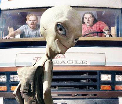 Trailer: Paul – Ein Alien auf der Flucht
