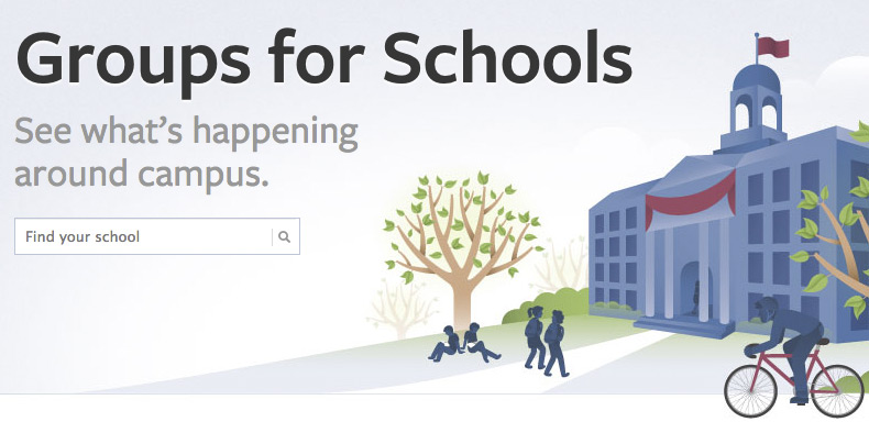 Groups for Schools auf Facebook