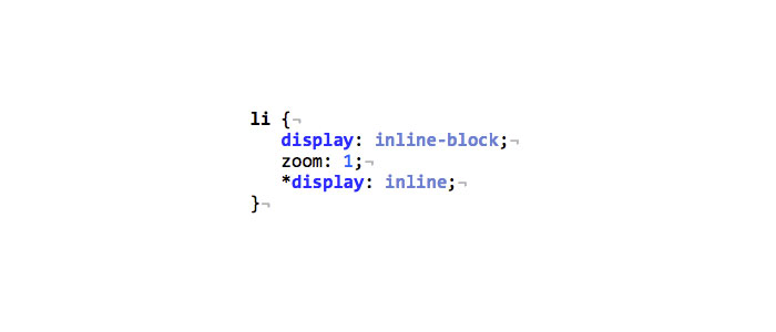IE7 display: inline-block CSS Bug